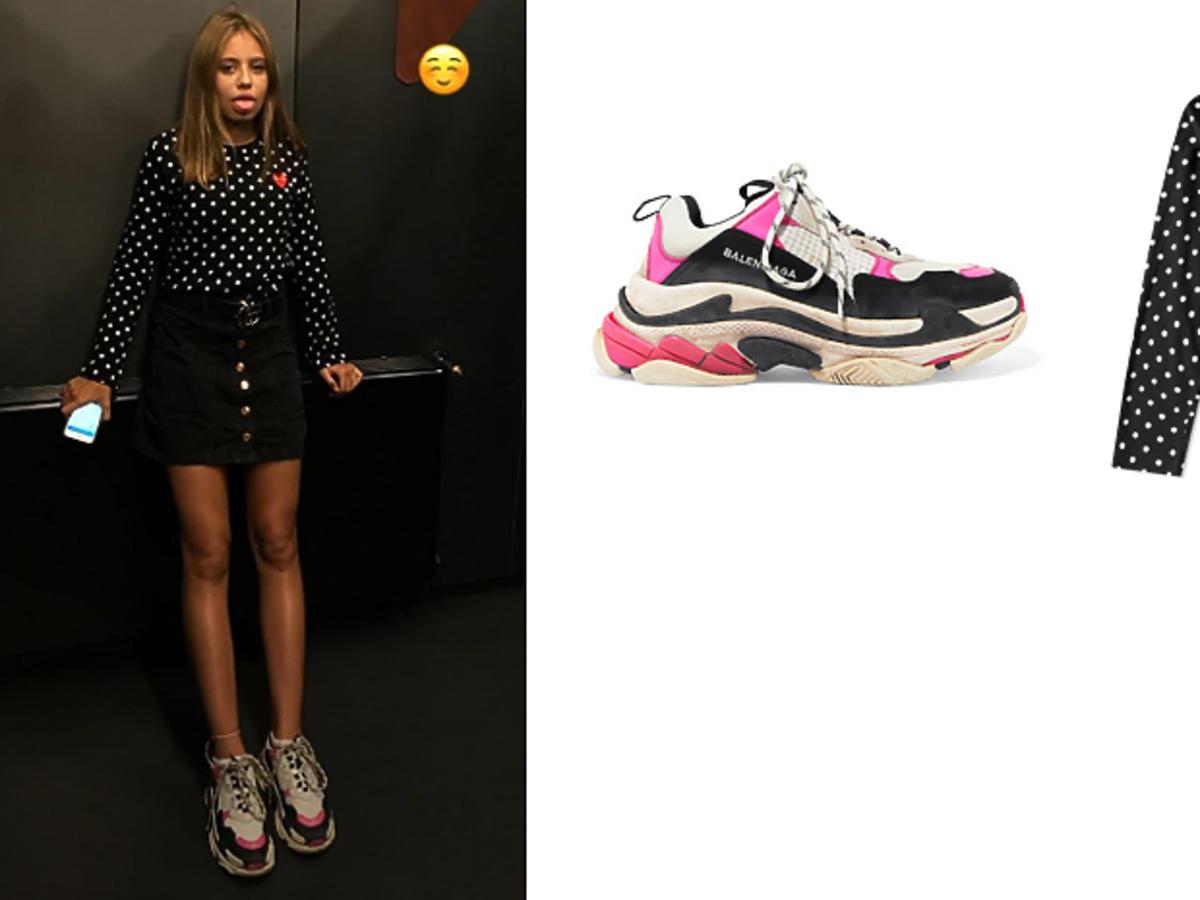 Oliwia Bieniuk w sneakersach Balenciaga