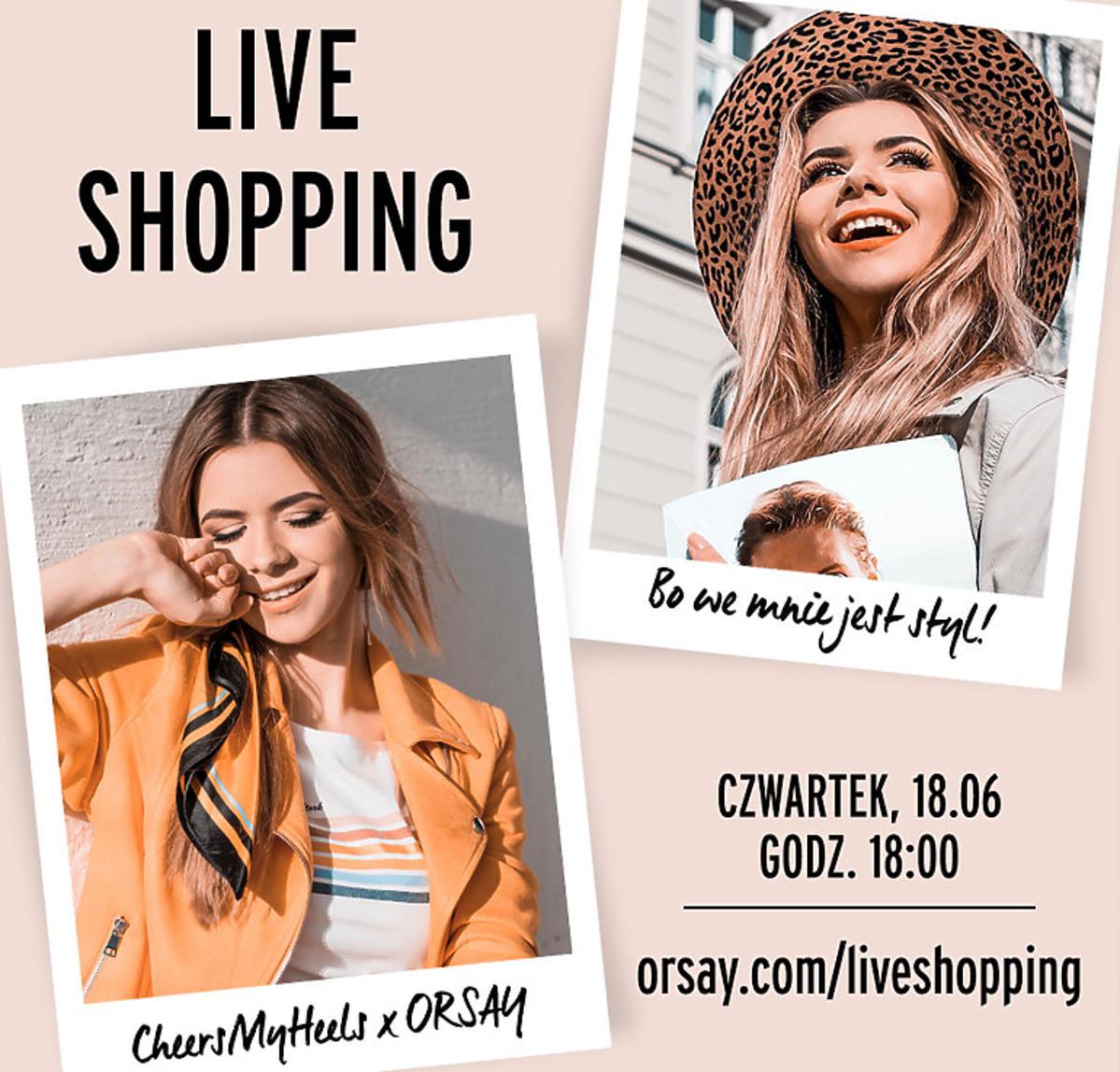 ORSAY LIVE SHOPPING - forma zakupów online, którą pokochają kobiety