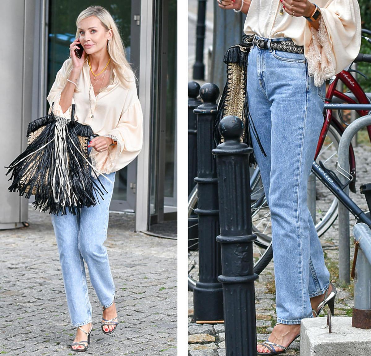 Oto najmodniejsze jeansy na jesień 2020! Agnieszka Woźniak-Starak już ma ten model