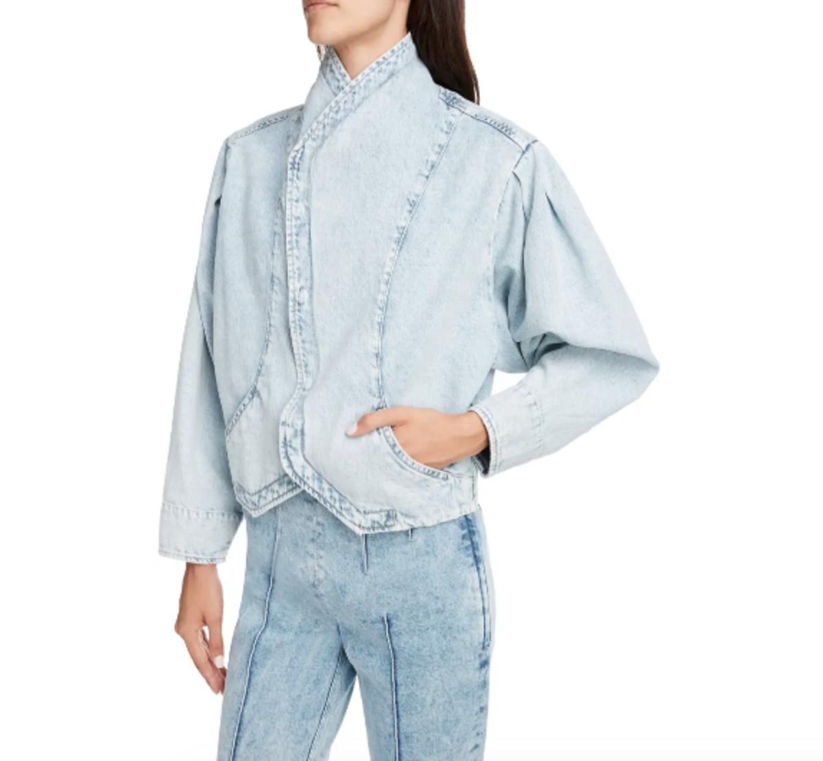 Pauline Crop Denim Jacket