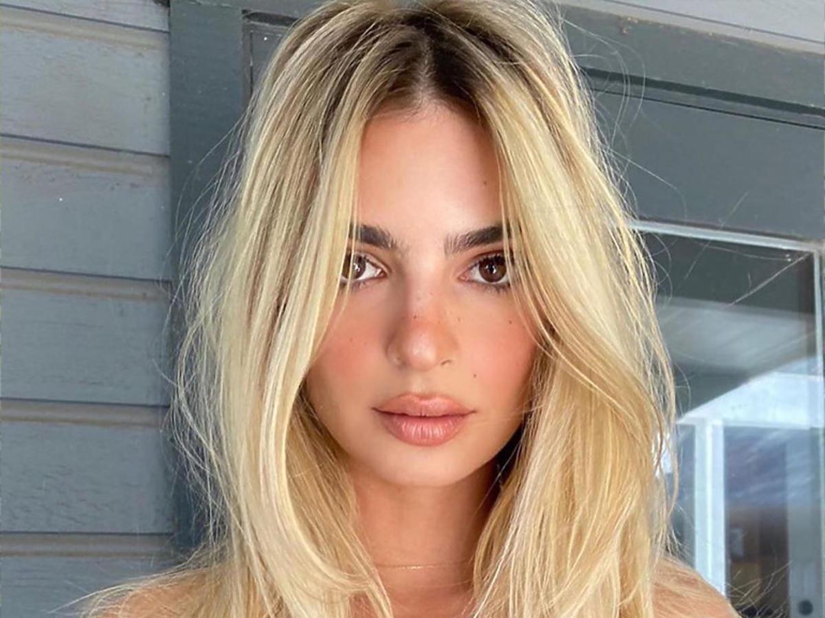 Platinum blonde to koloryzacja wakacji 2020