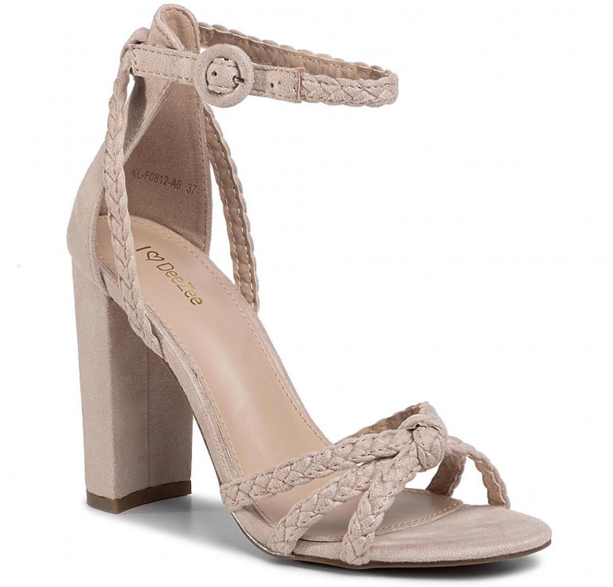 Plecione sandały DEEZEE