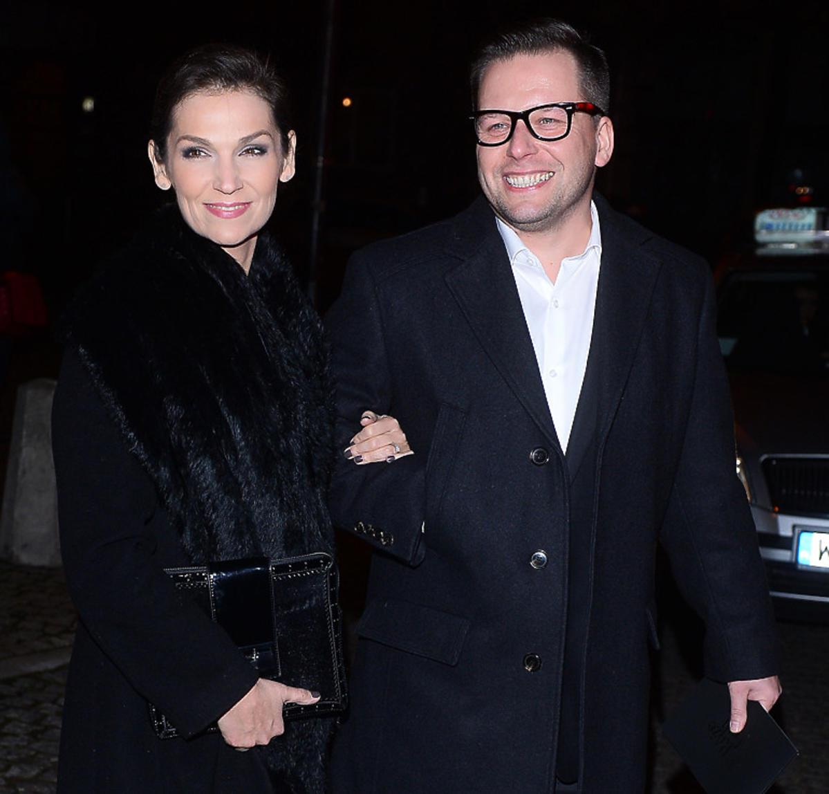 Rafał Krauze i Olga Bończyk