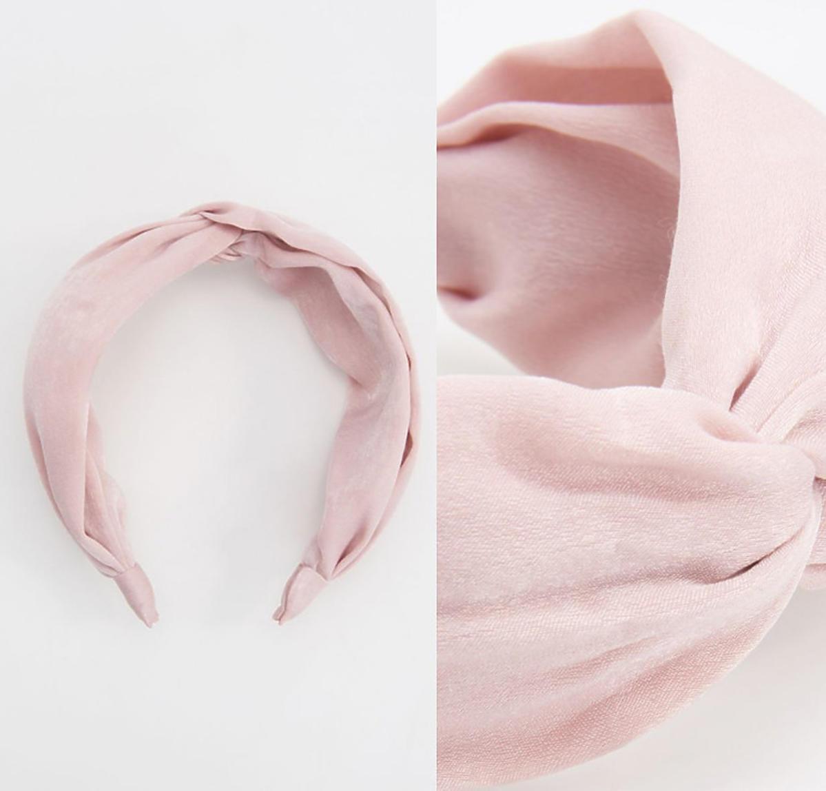 Różowa opaska do włosów Reserved, 19,99 zł