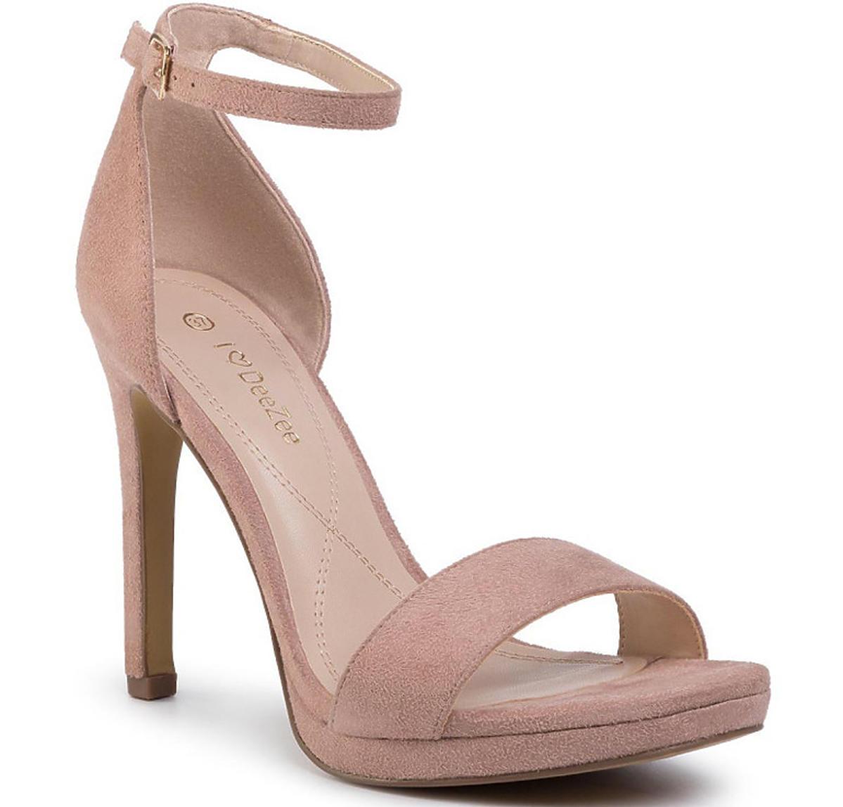Sandały DEEZEE w kolorze nude, 99,99 zł