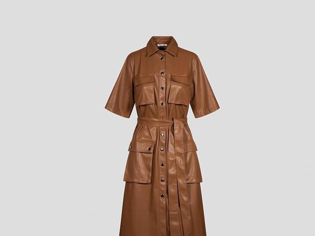 Skórzana sukienka Orsay