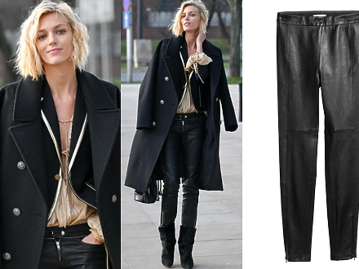 Skórzane spodnie, shopping