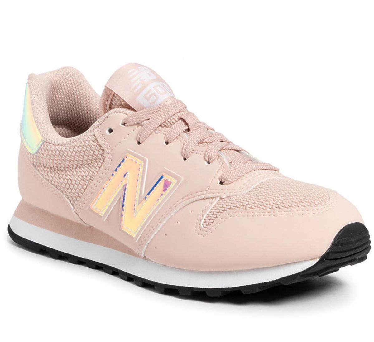 Sneakersy NEW BALANCE w kolorze pudrowego różu