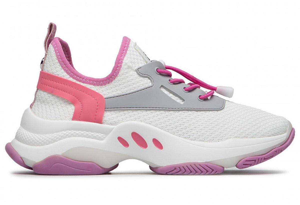 Sneakersy STEVE MADDEN biało-różowo-fioletowe