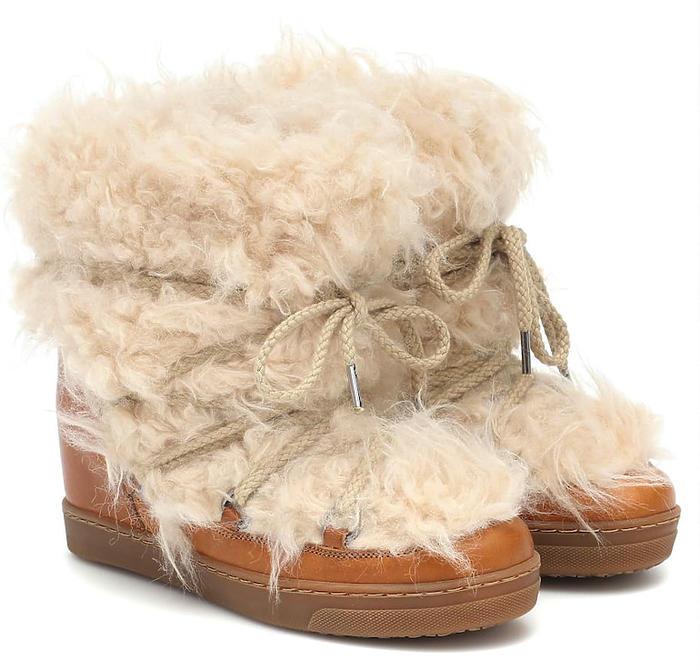 Śniegowce z futerkiem Isabel Marant, 2200 zł