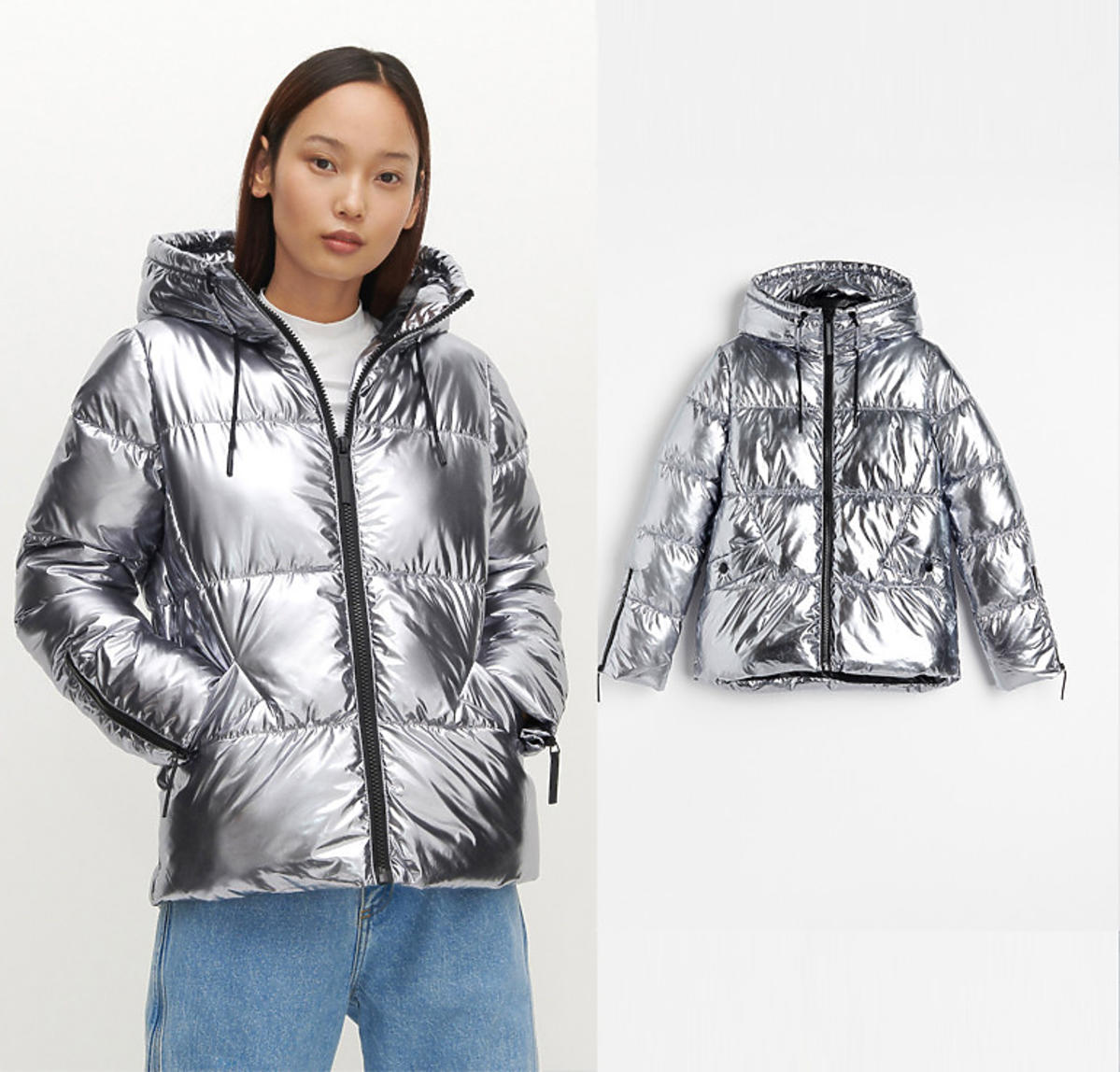 Srebrna kurtka na jesień i zimę 2020, Reserved