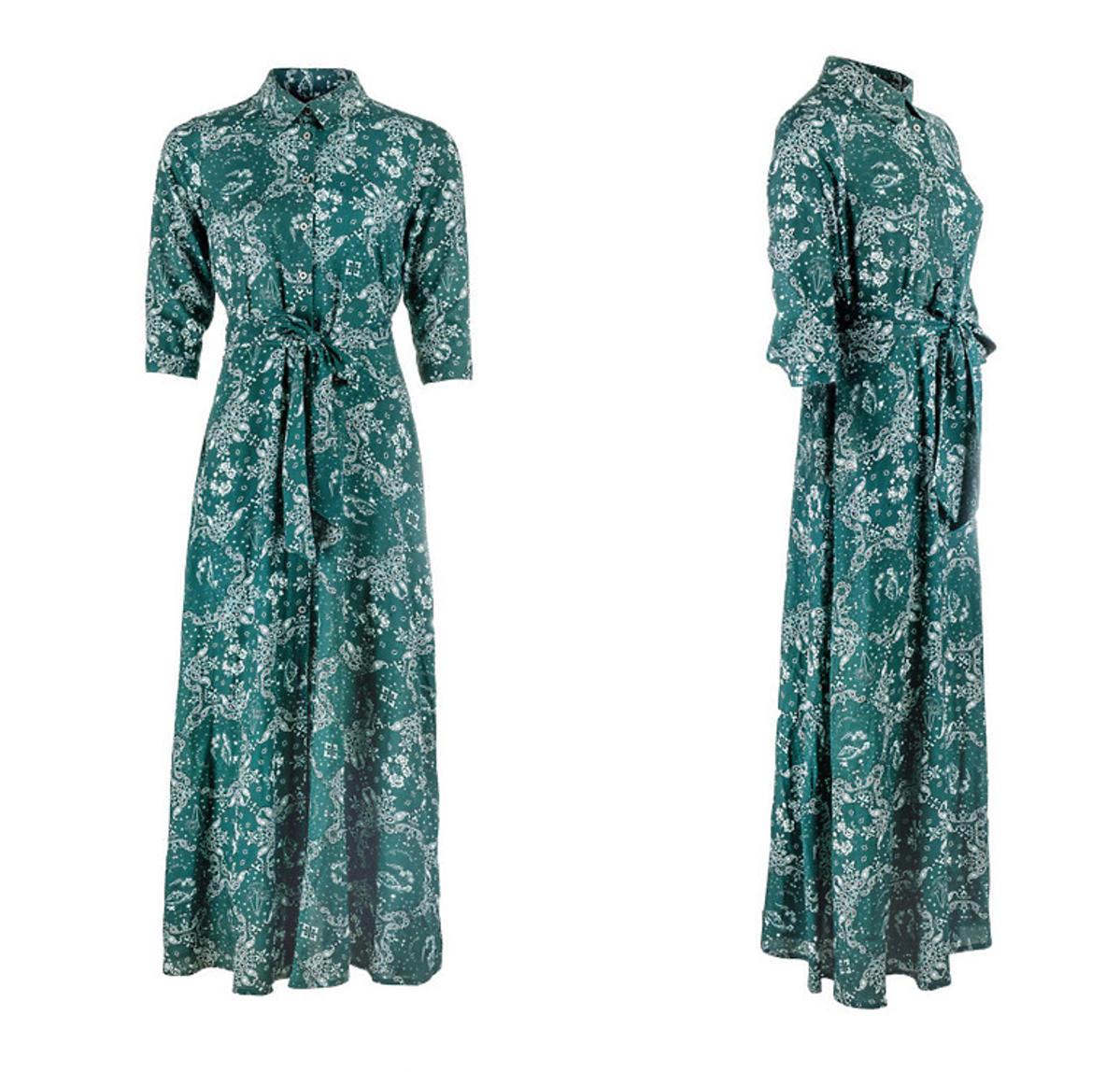 Sukienka koszulowa maxi, Beksa, 299 zł