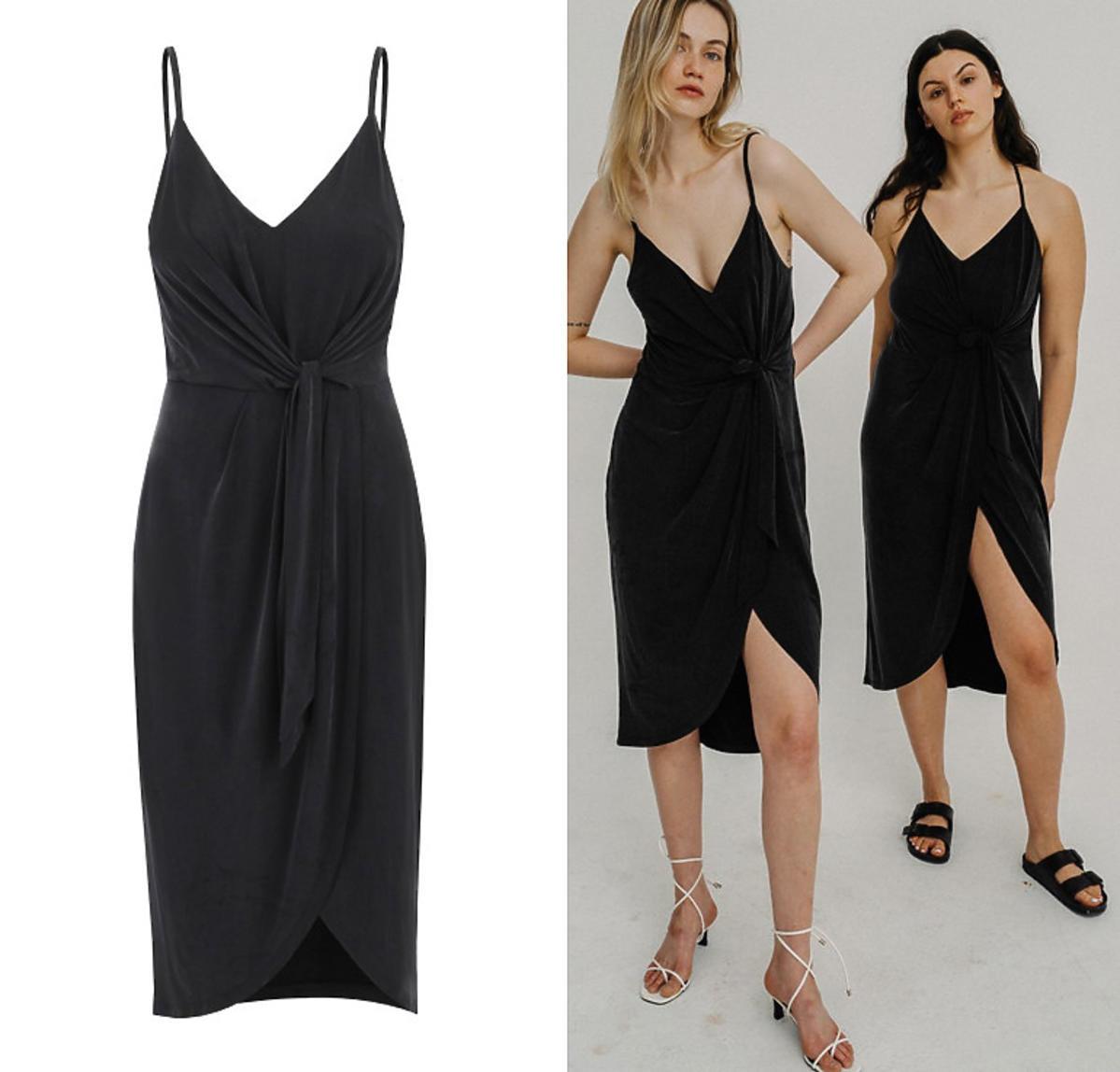 Sukienka z cupro, NAGO, 429 zł