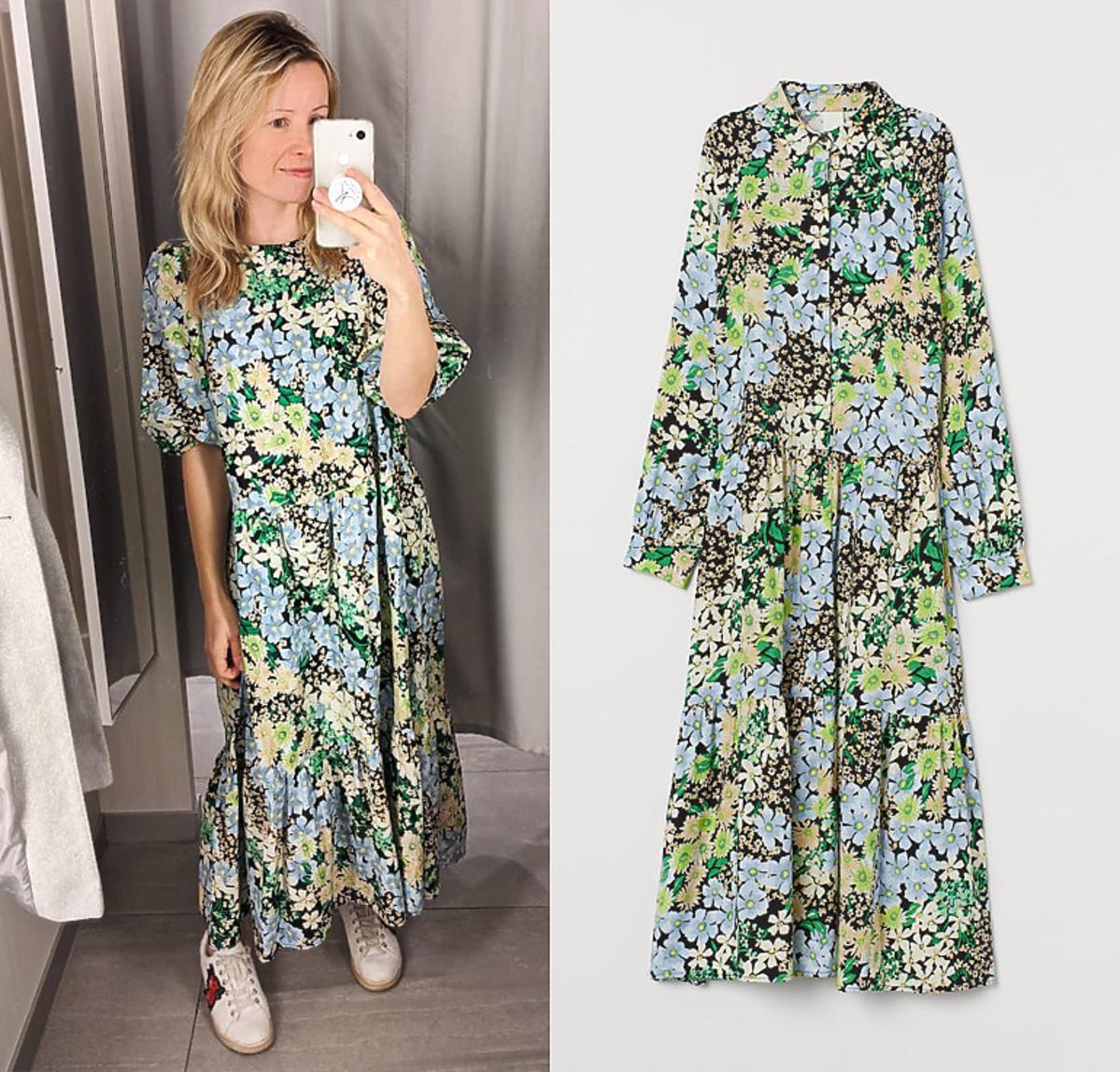 Sukienka z H&M w kwiaty stała się hitem Instagrama