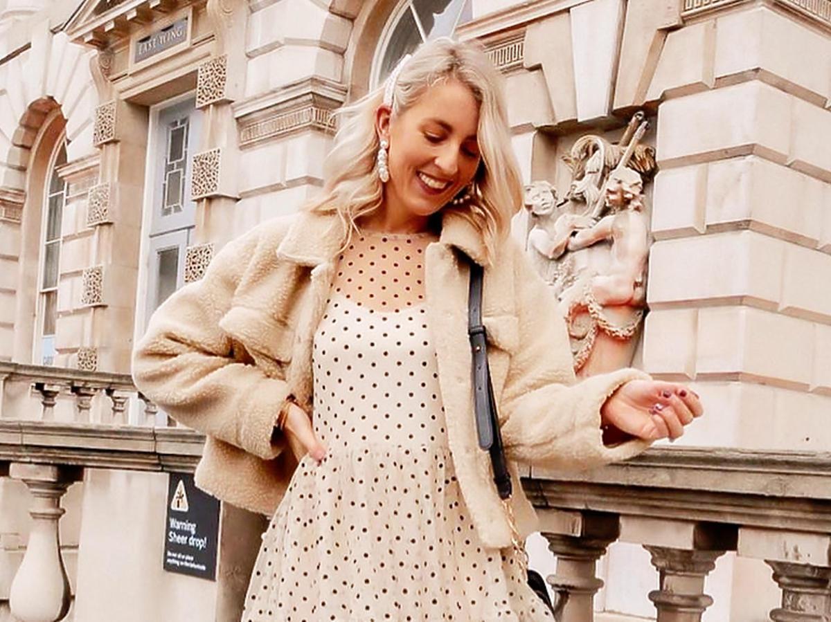 Ta sukienka w groszki z H&M będzie hitem wiosny! Kosztuje nieco ponad 100 zł