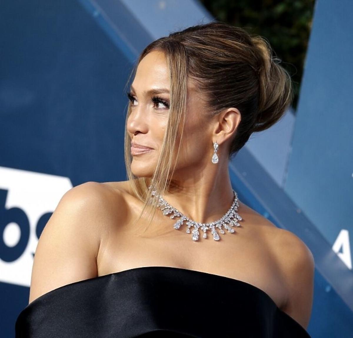 Jennifer Lopez na gali SAG