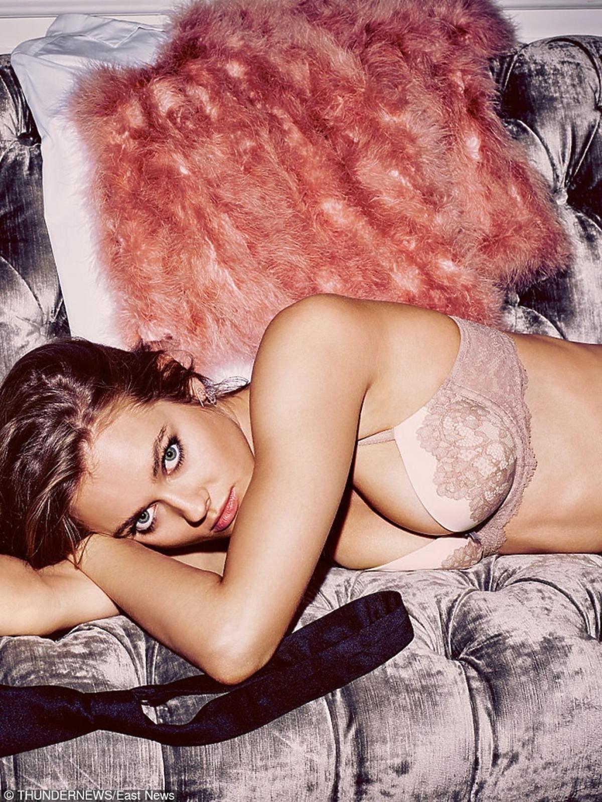 Monika Jagaciak - zdjęcie do katalogu Victoria's Secret