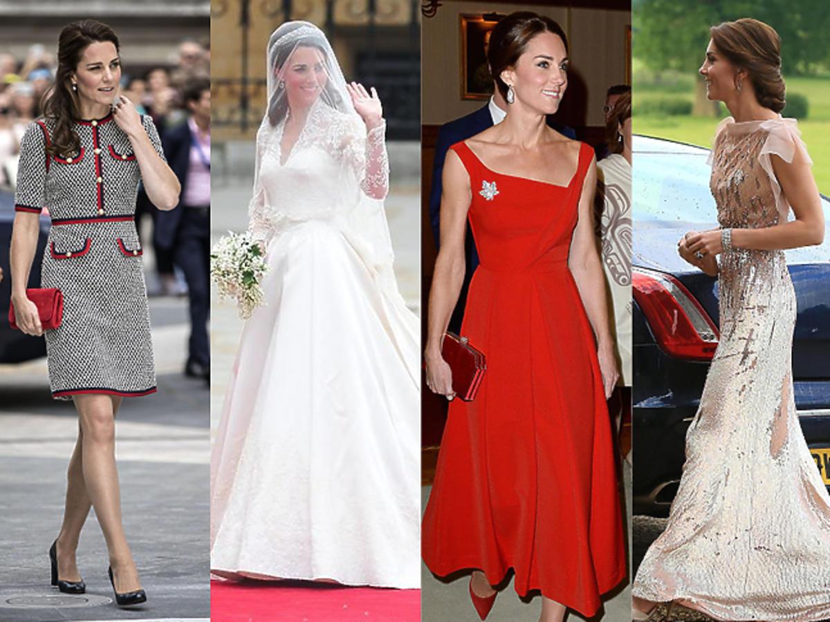 Najdroższe kreacje księżnej Kate