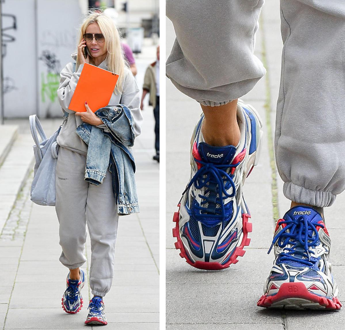 Trendy lato 2020. Agnieszka Woźniak-Starak w sneakersach Balenciaga Track za 3000 złotych
