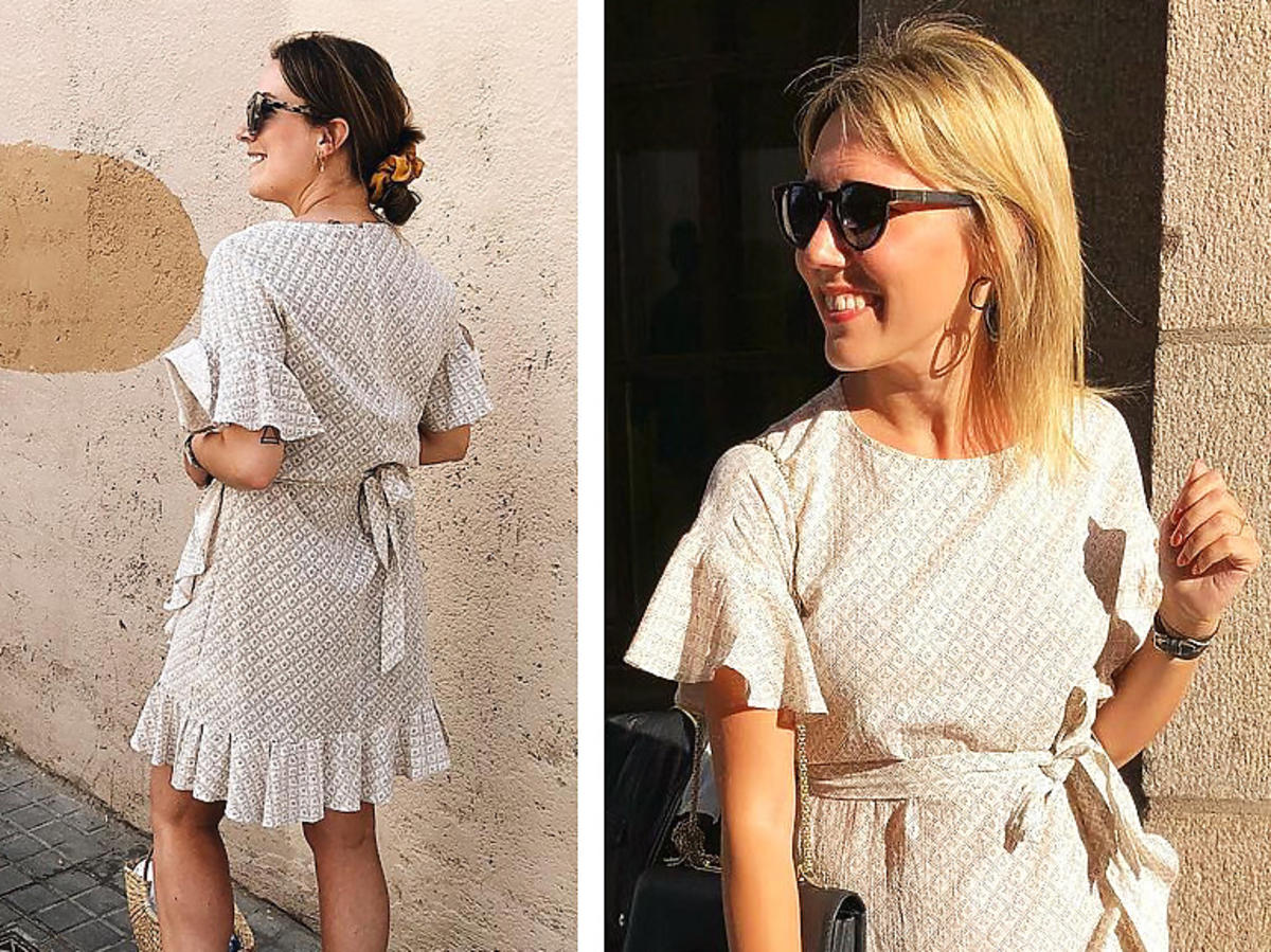 Trendy lato 2020. Sukienka z H&M z falbanami za 70 złotych z wyprzedaży to hit Instagrama!