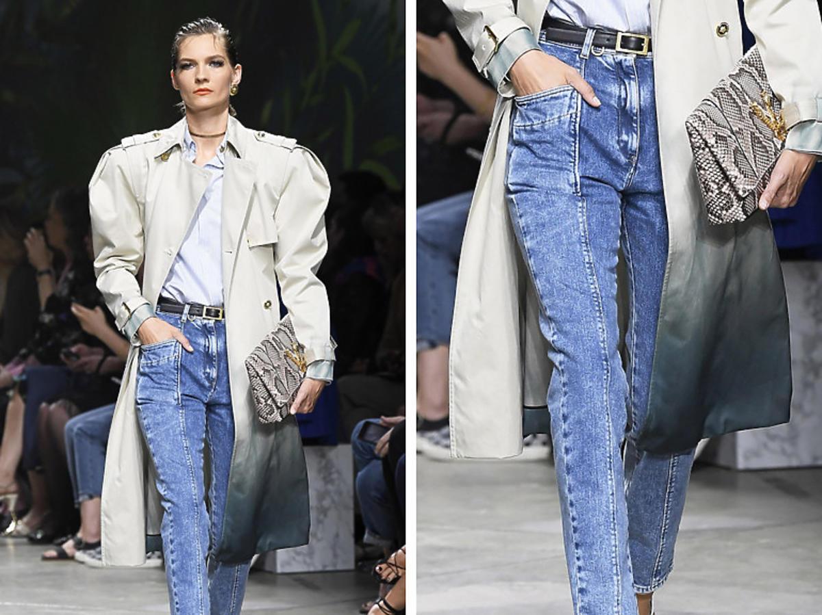 Versace. Modne jeansy wiosna 2020