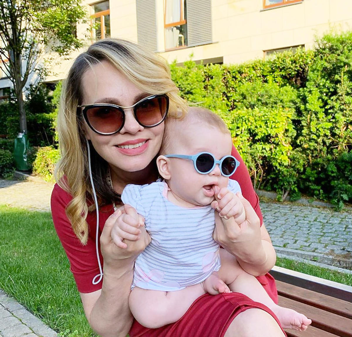 Weronika Marczuk i jej córka