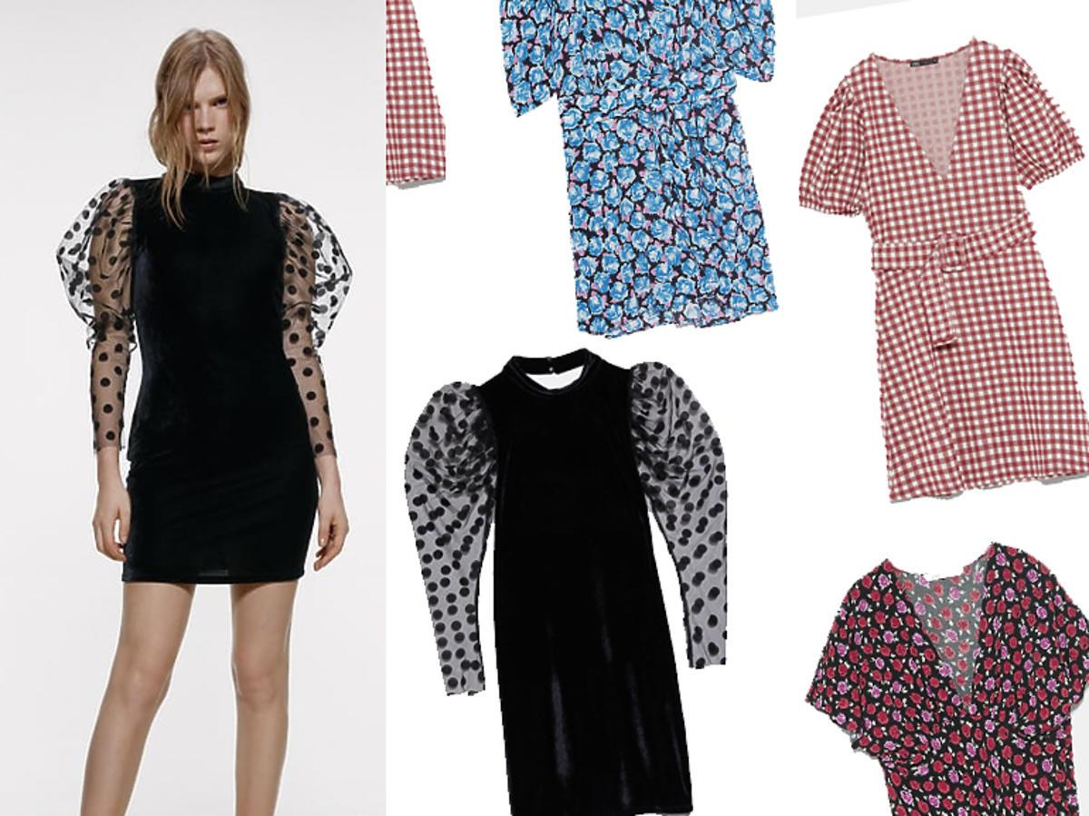 Zara wyprzedaże zimowe 2019 sukienki