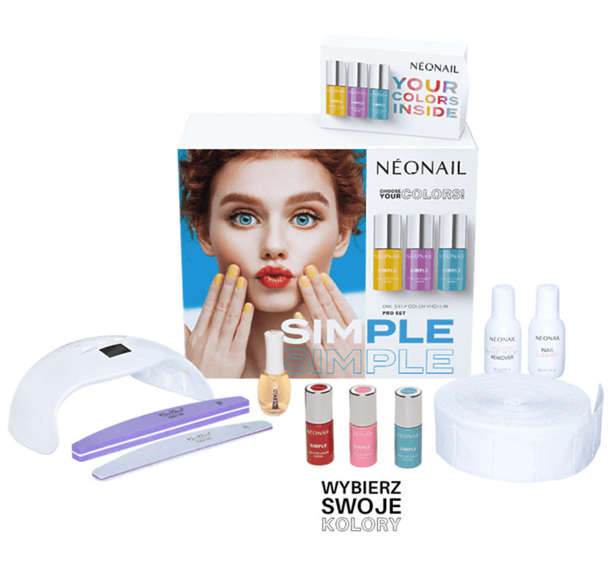 Zestaw startowy SIMPLE One Step Color Protein PRO Starter Set