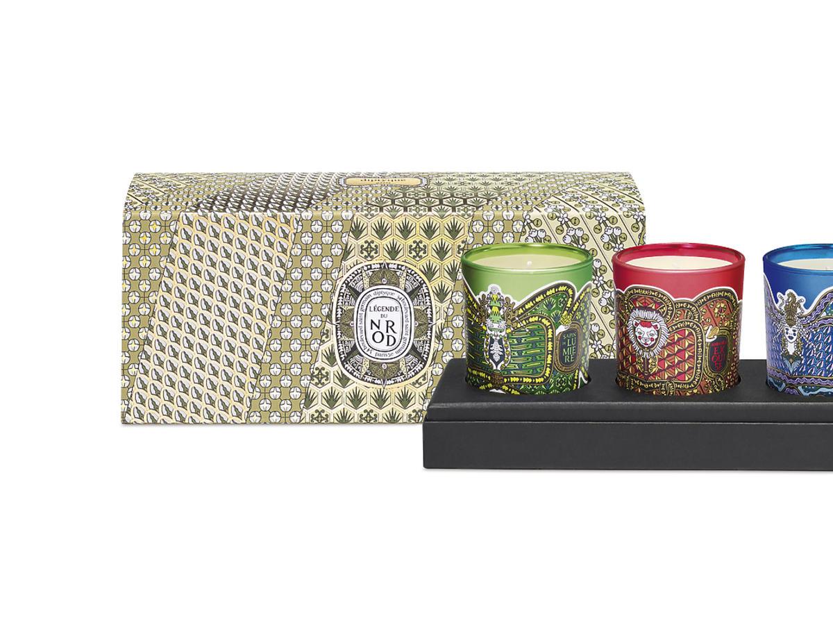 Świąteczny zestaw świec 3x70 g, Dyptique, 399 zł