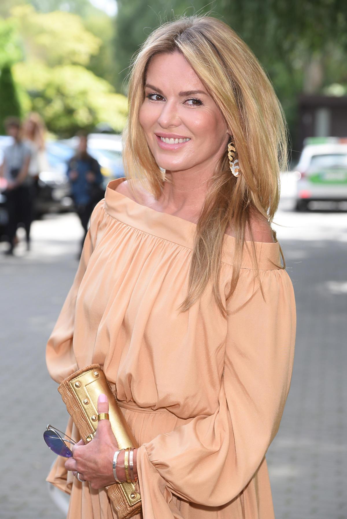 Hanna Lis w sukience Łukasza Jemioła