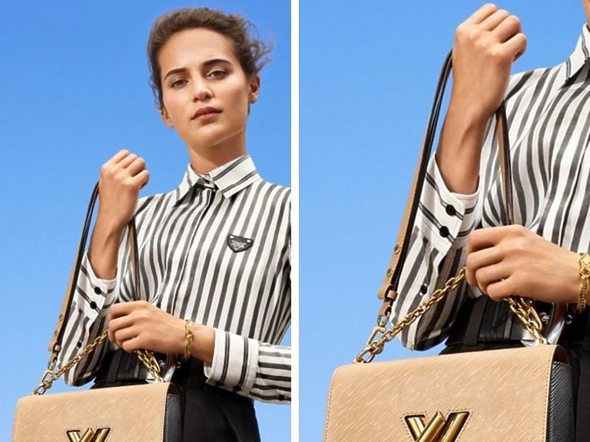 Lea Seydoux i Alicia Vikander w kampanii  Louis Vuitton