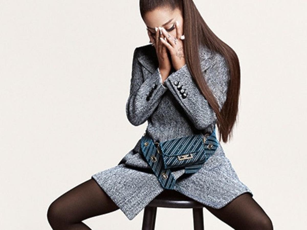 Ariana Grande w kampanii Arivenchy Givenchy