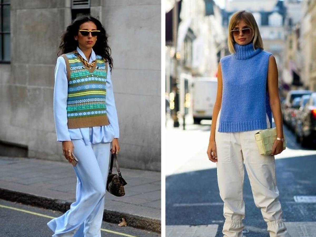 Zdjecia uliczne z tygodnia mody w Londynie 2020