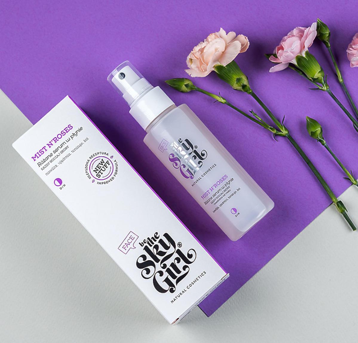 Różane serum w płynie BTSG