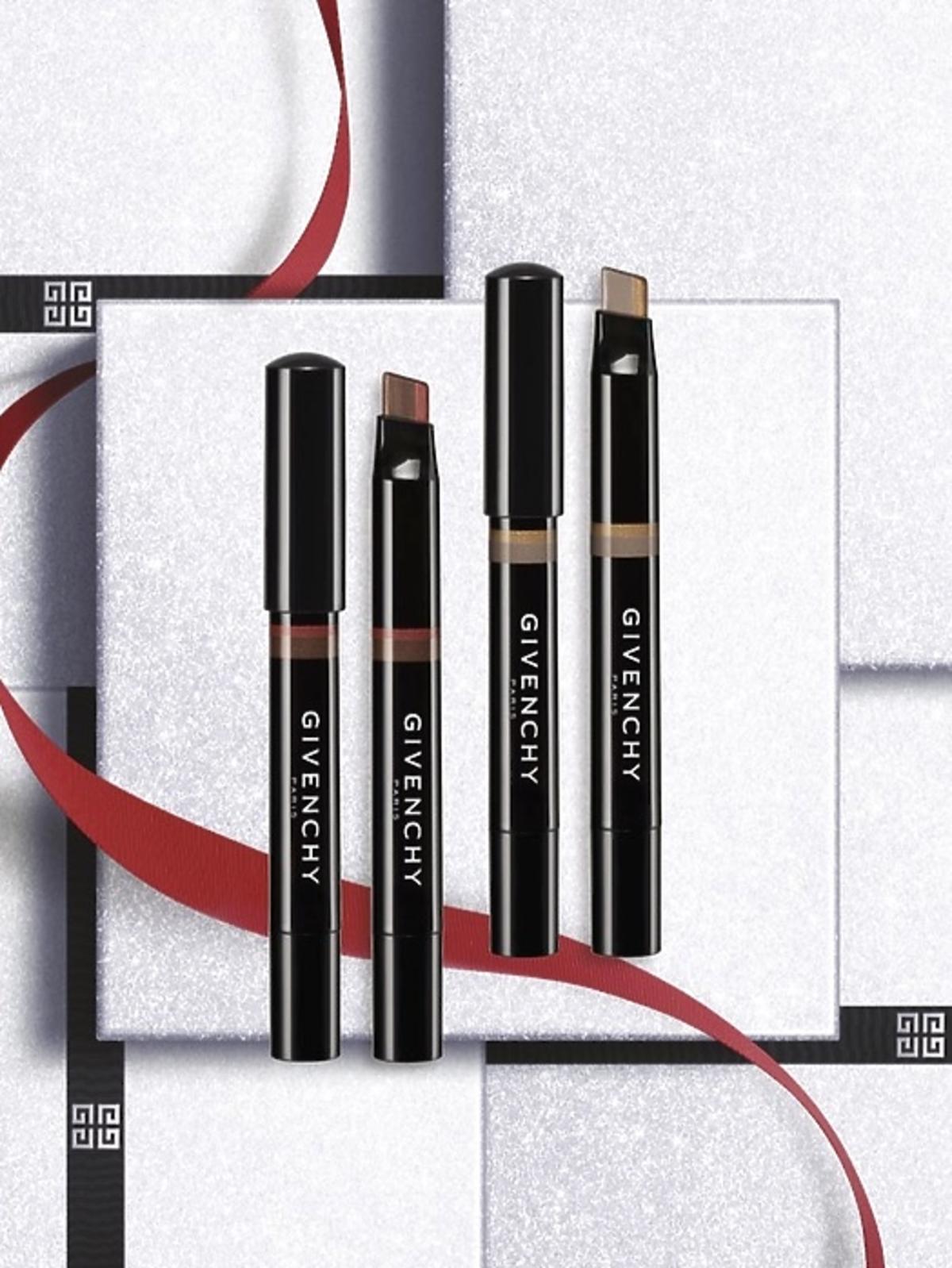 Dwukolorowe eyeliner i cień do powiek, Dual Liner no. 1 Mystic Red i  Dual Liner no. 2 Mystic Gold, 280 zł