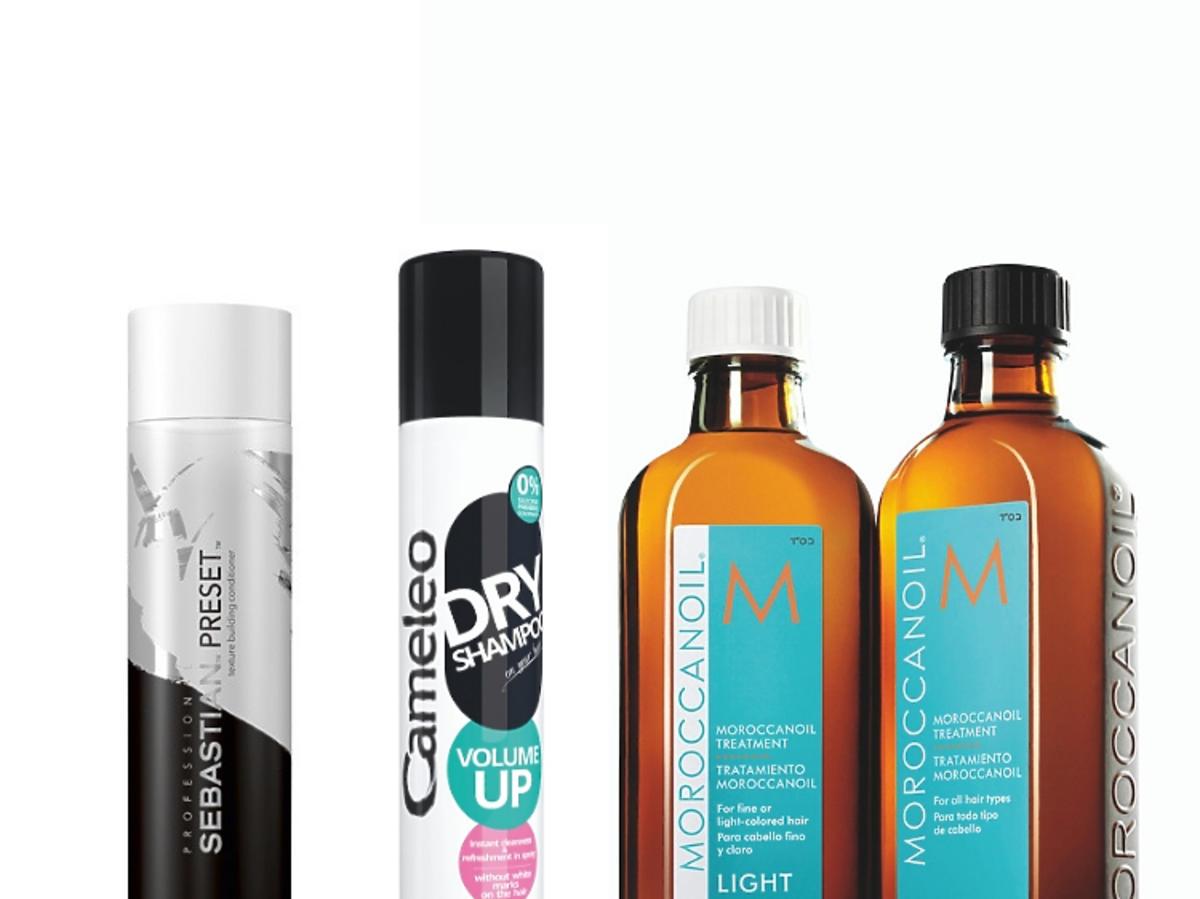 Kosmetyki do stylizacji krótkich włosów: Sebastian Professional, Delia Cameleo, Moroccanoil