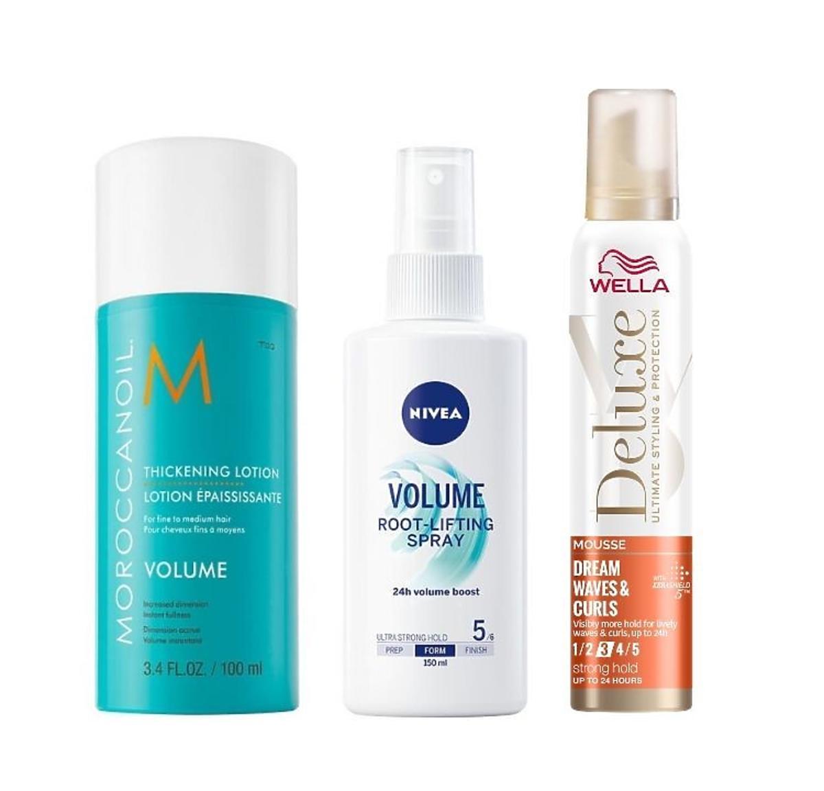 Najlepsze fryzury walentynkowe, które zrobisz w pięć minut /kosmetyki: Morroccanoil, Nivea, Wella