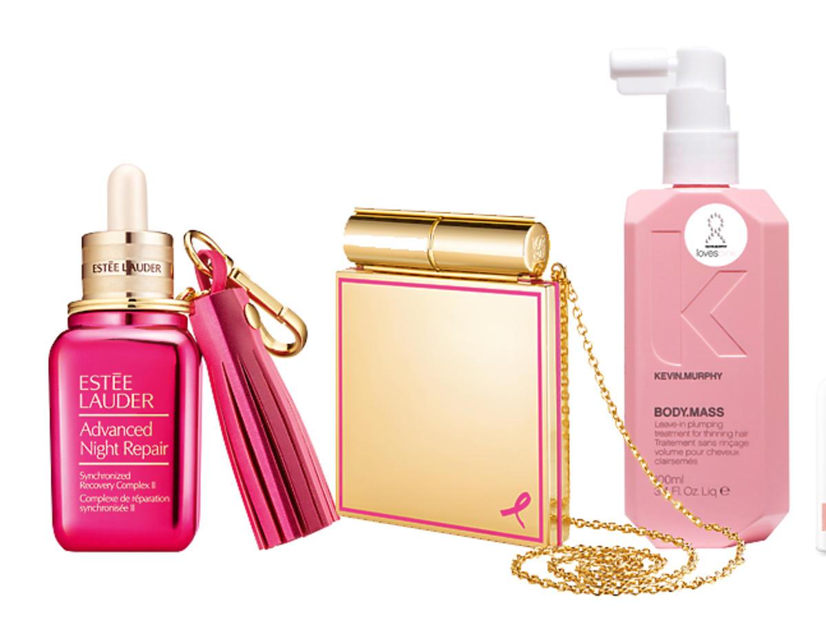 Kosmetyki wspierające październikową kampanię walki z rakiem piersi