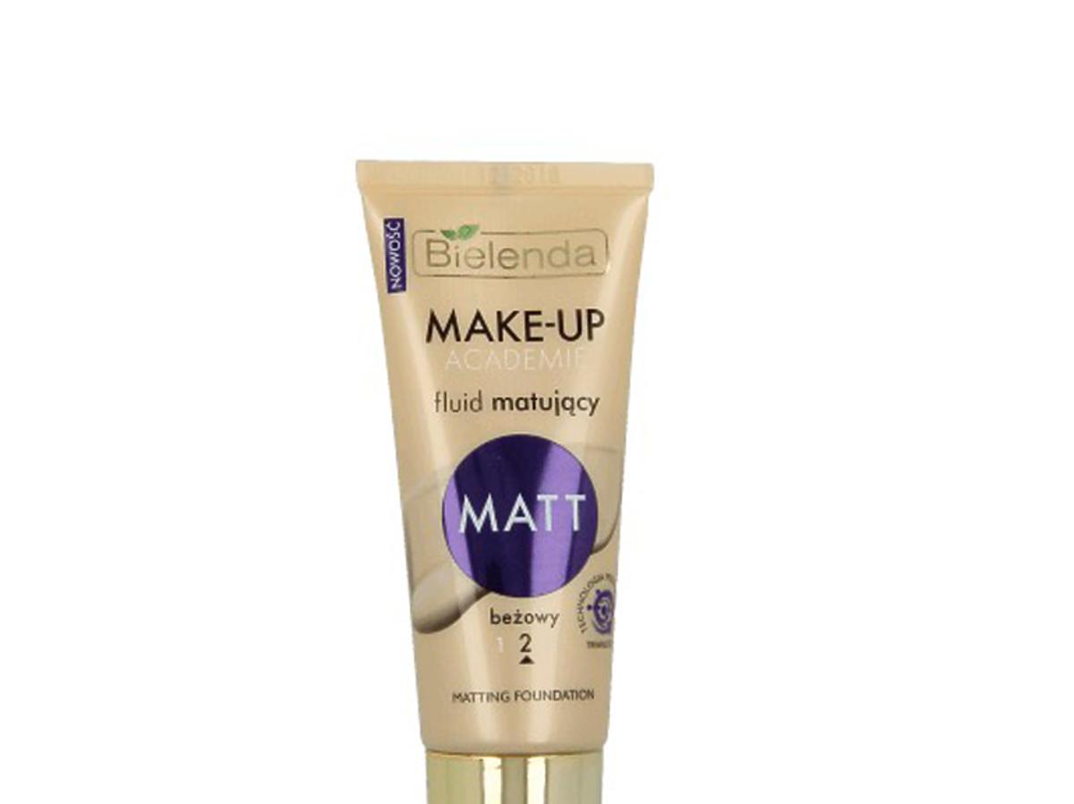 Fluid matujący Matt, Bielenda Make-Up Academie, 12,99 zł