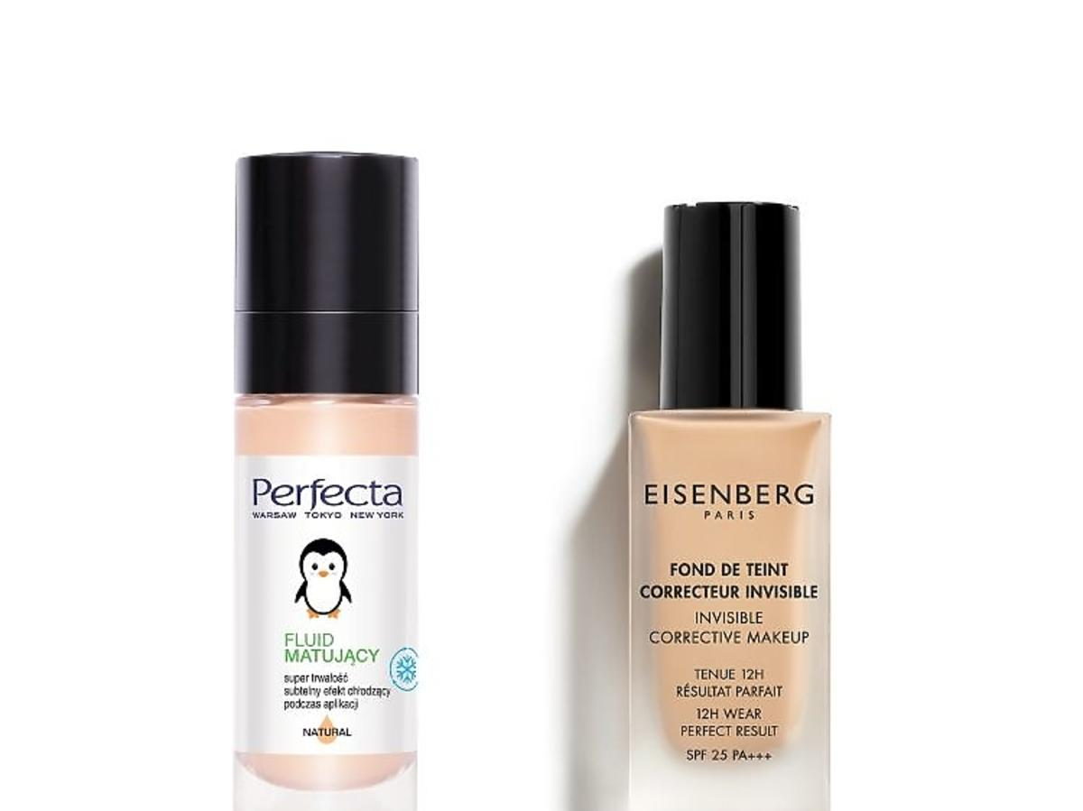 Kosmetyki, które przetrwają upał: podkłady Perfecta i Eisenberg