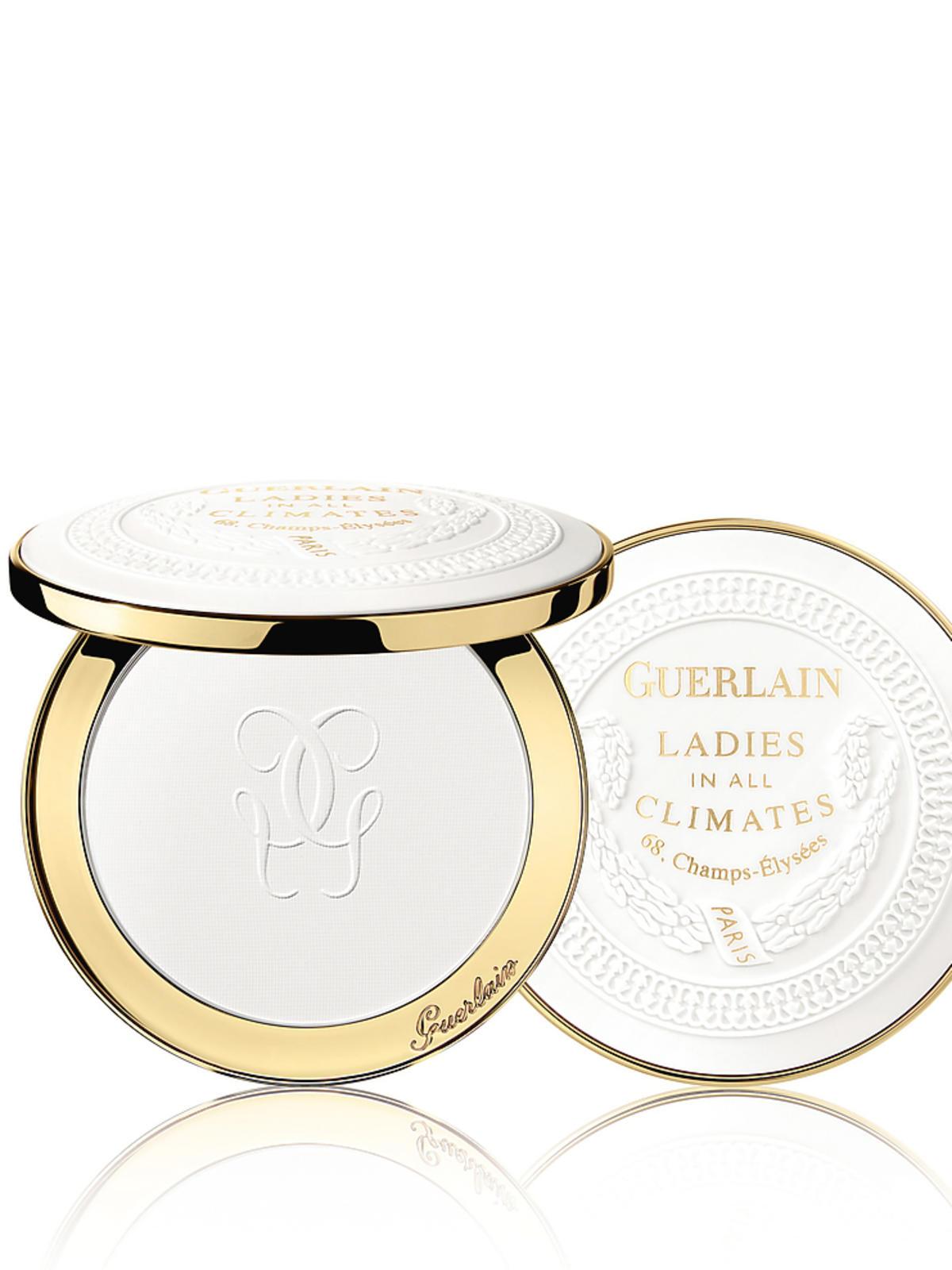 Ladies In All Climates Uniwersalny puder rozświetlający, matujący; zapewnia rozmyty efekt blur; edycja limitowana; 745 zł