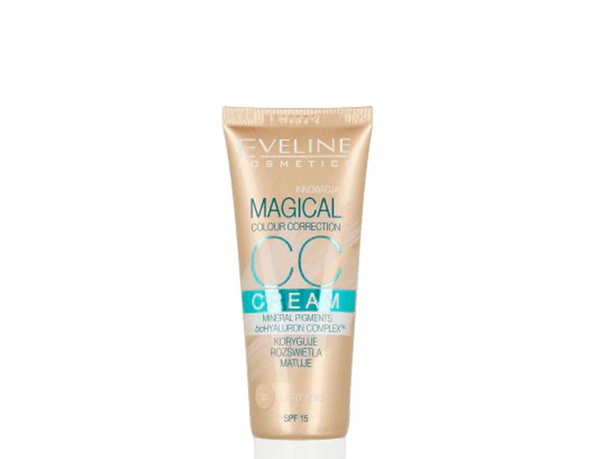 Multifunkcyjny podkład Magical Cream SPF 15 nr 50 Light Beige, Eveline Cosmetics, 17,49 zł