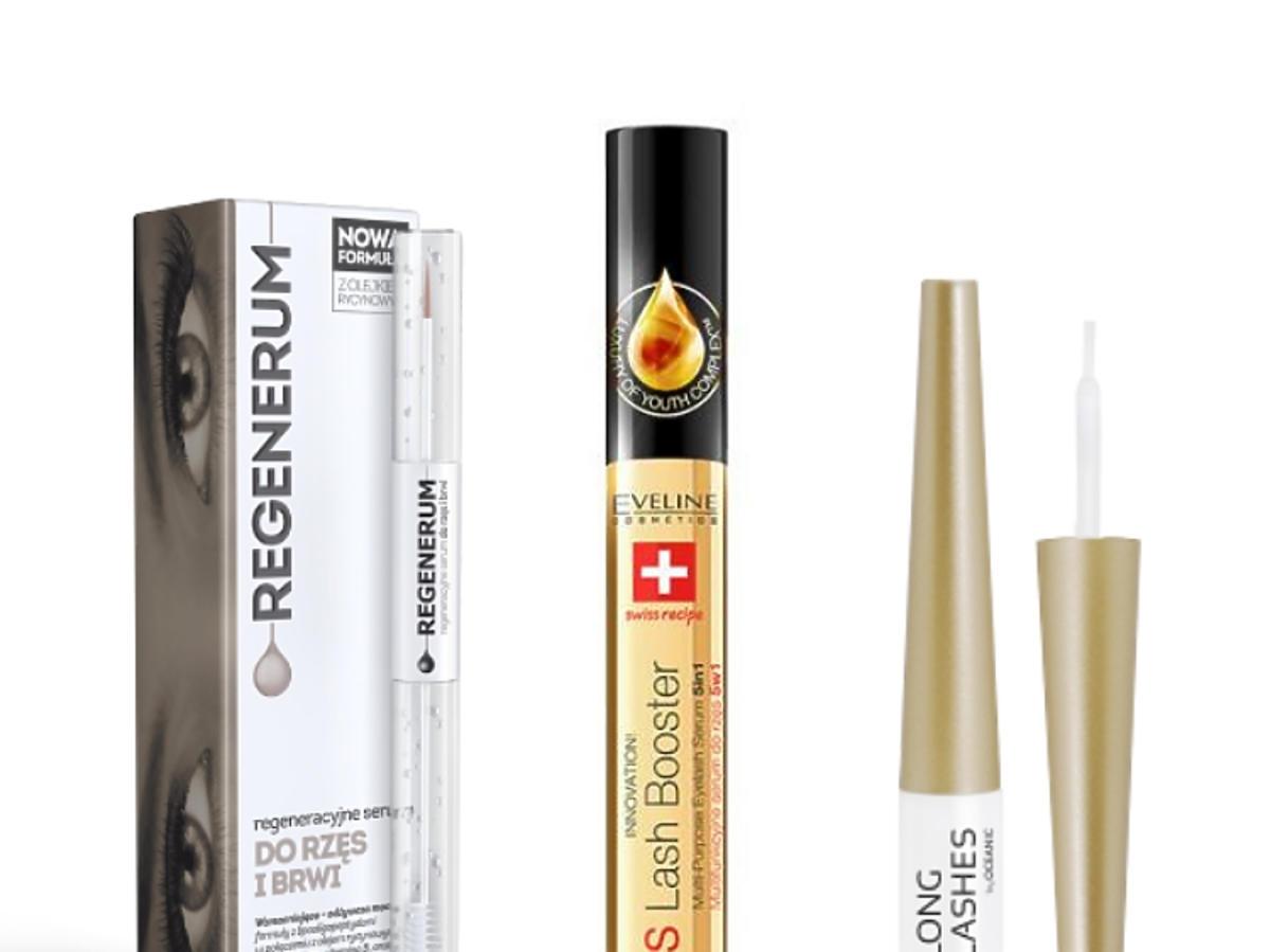 Odżywki do rzęs: Regenerum, Eveline Cosmetics, Long4Lashes