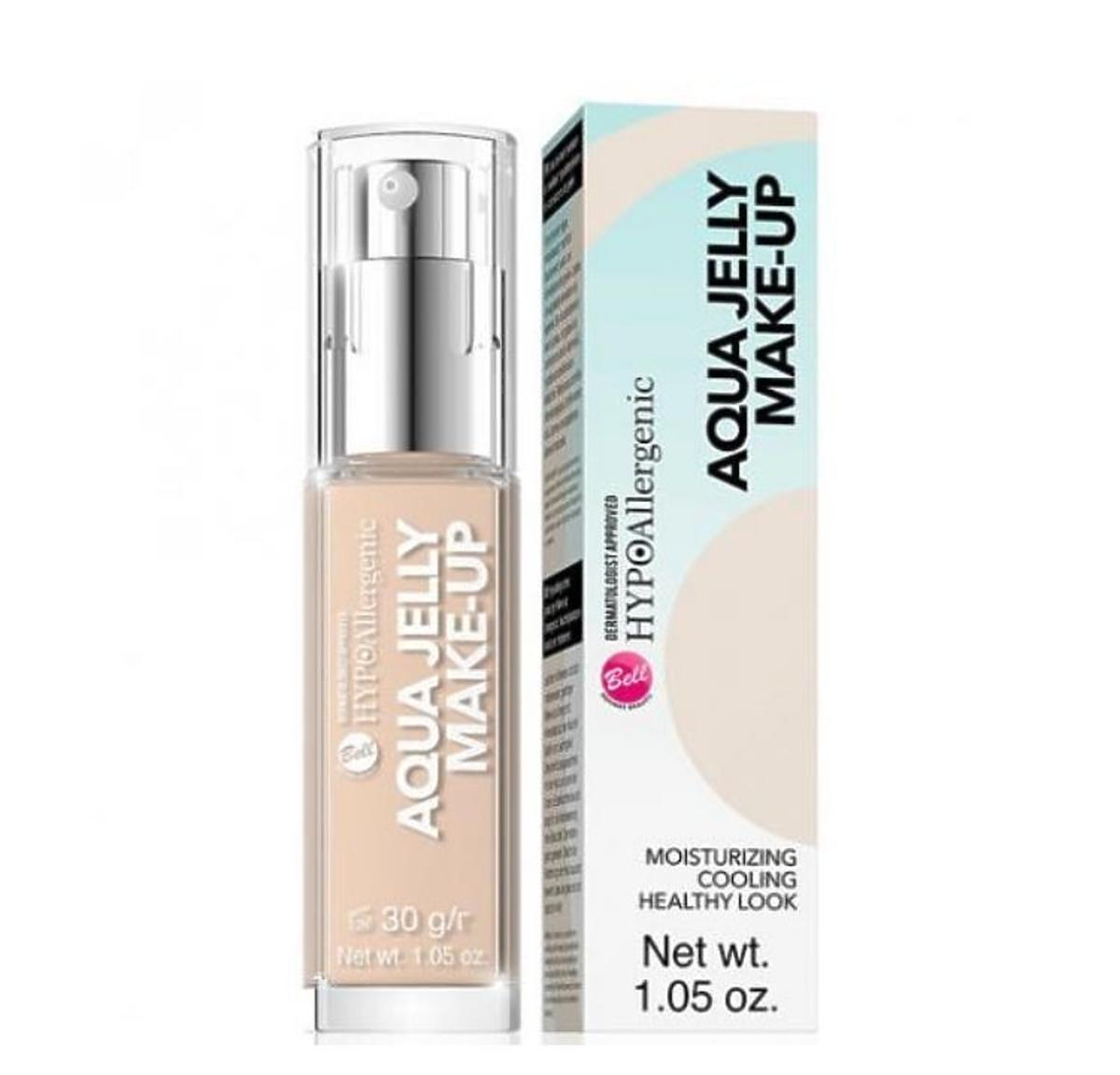 Podkład Aqua Jelly Make-Up marki Bell z serii Hypoallergenic