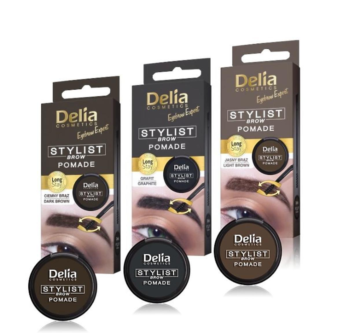 Pomada do brwi Stylist Delia Cosmetics
