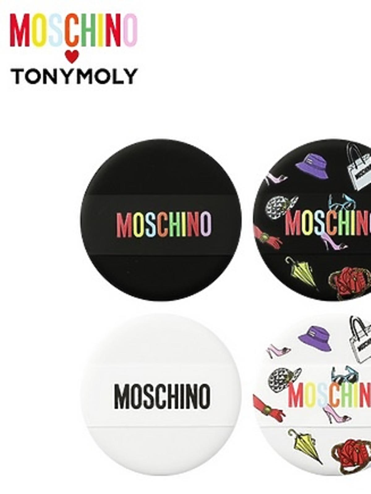 Zestaw gąbeczek do pudru Tonymoly x Moschino