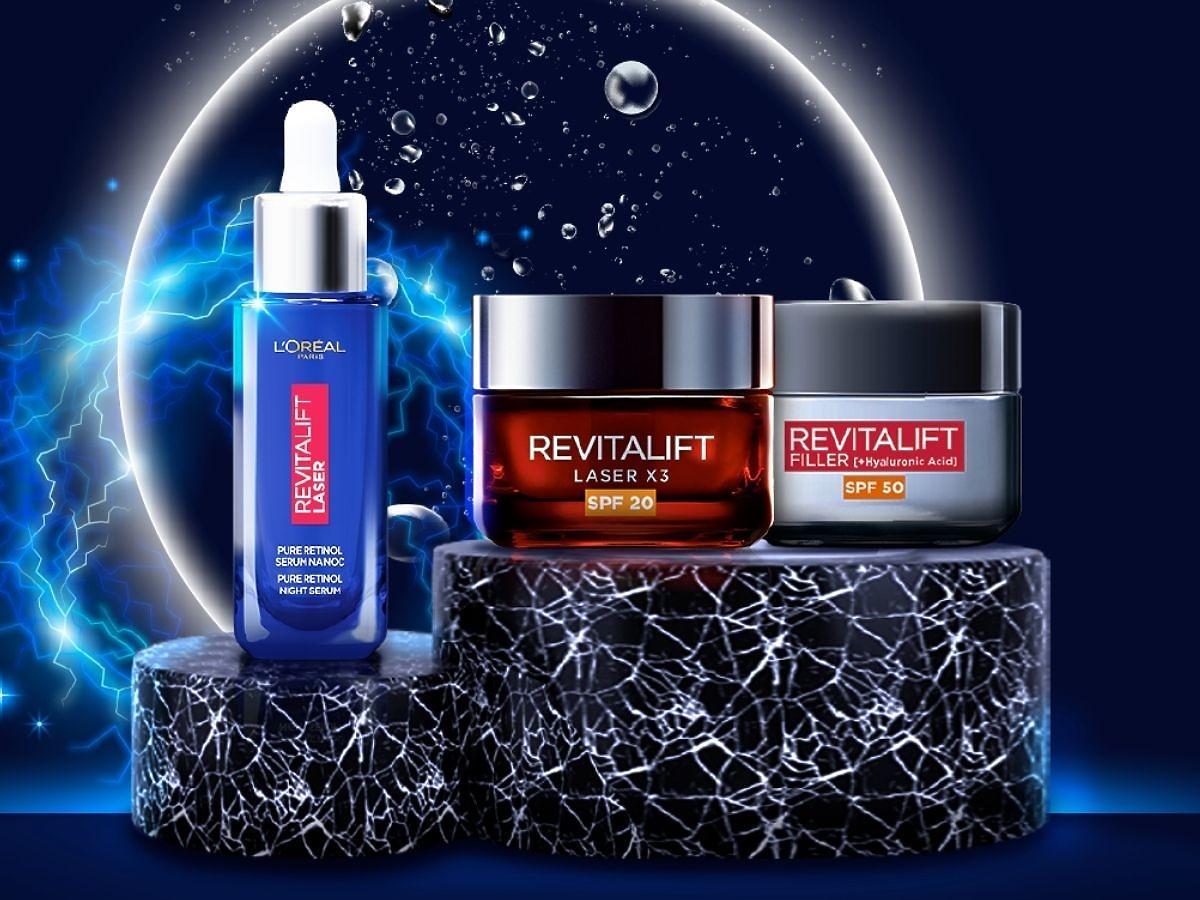 Kosmetyki z serii Revitalift L'Oreal Paris