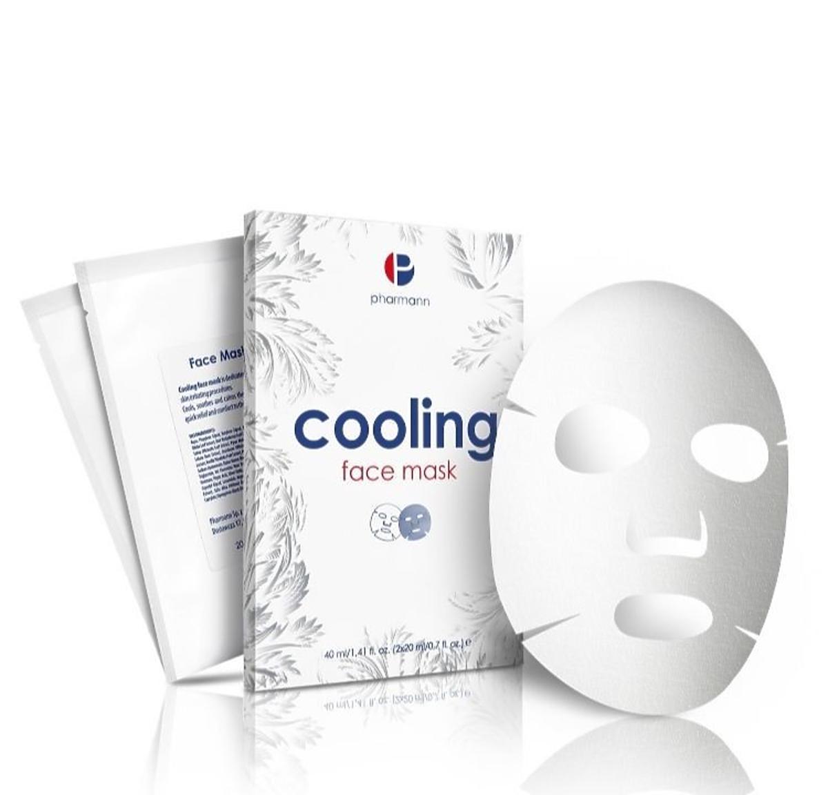 Cooling Face Mask Pharmann