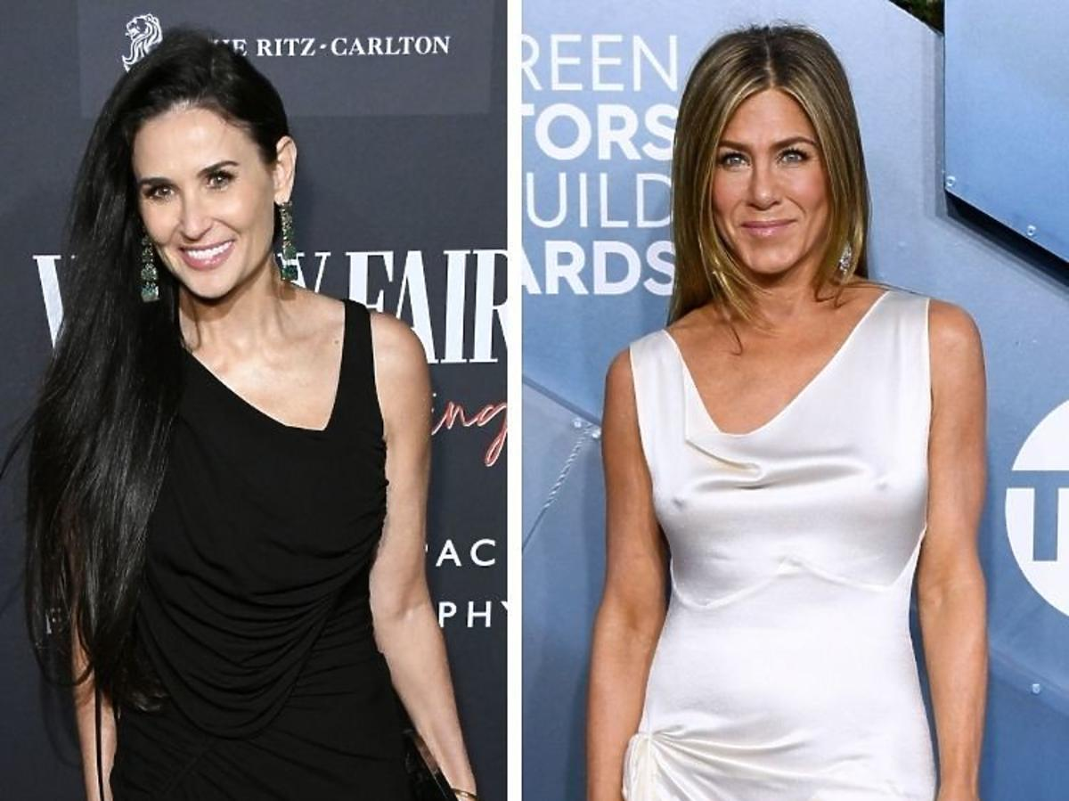 Demi Moore i Jennifer Aniston