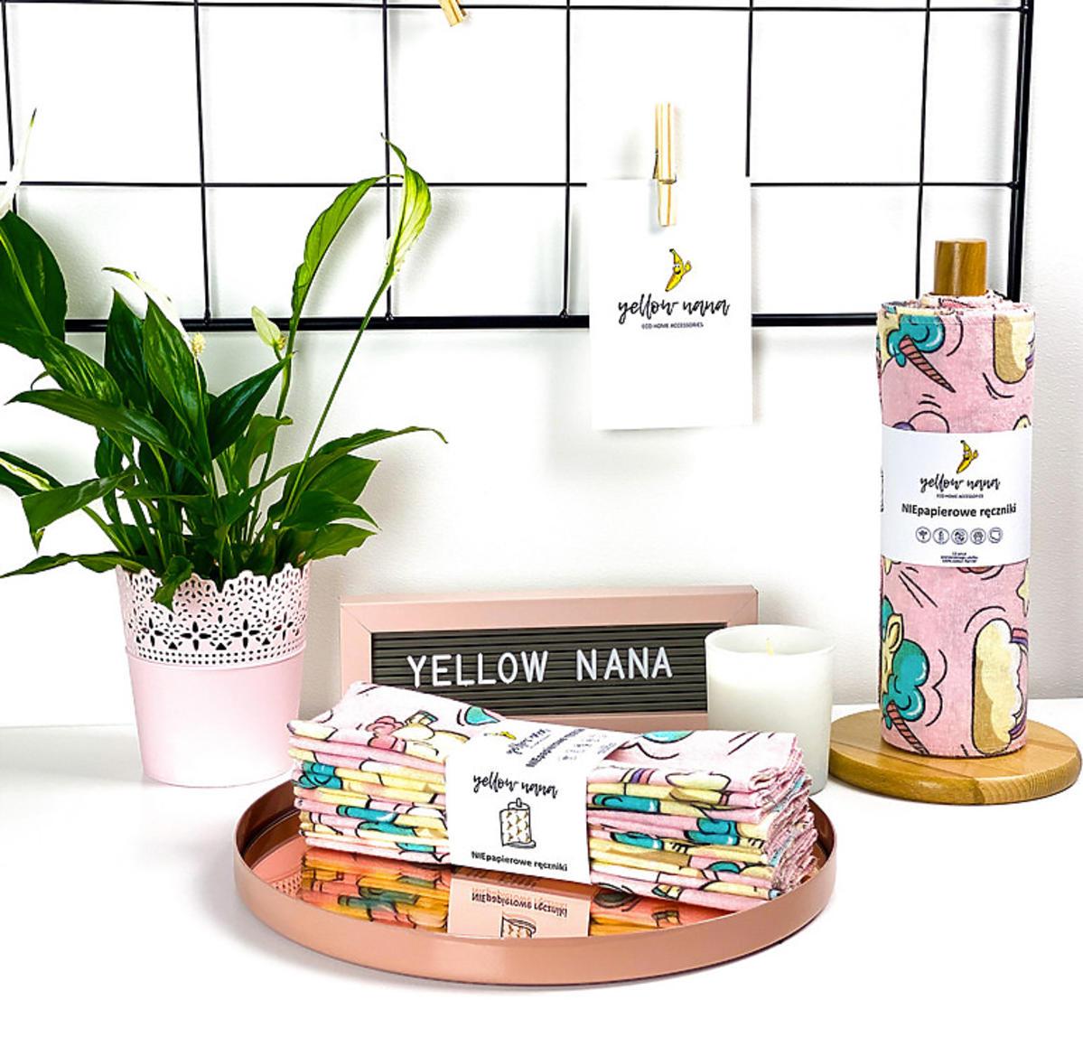 Yellow Nana czyli niepapierowe ręczniki